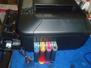 Cara memasang infus printer canon pixma mx377